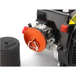 Hpi Racing  ALUMINUM AIR FILTER MAINTENANCE CAP (ORANGE) 86700 2