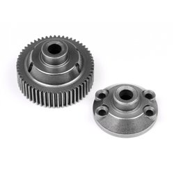 Hpi Racing  55T DRIVE GEAR/DIFF CASE 86866