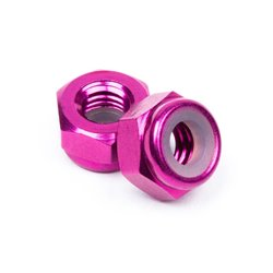 Hpi Racing  ALUMINUM LOCK NUT M4 (PURPLE/10pcs) Z867