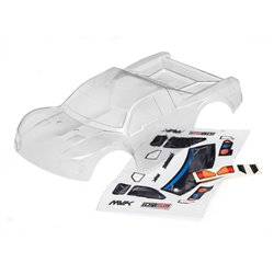 Maverick CLEAR SHORT COURSE BODY WITH DECALS (ION SC) MV28073