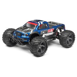 Maverick CLEAR MONSTER TRUCK BODY WITH DECALS (ION MT) MV28074
