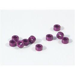 Hpi Racing  ALUMINIUM WASHER 3 X 6 X 3.0MM (PURPLE/10 PCS) Z819
