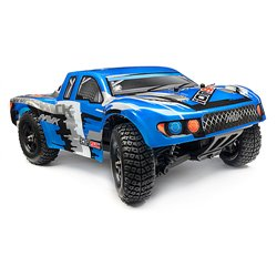 Maverick SHORT COURSE PAINTED BODY BLUE WITH DECALS (ION SC) MV28067