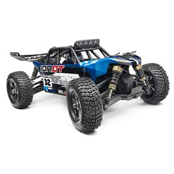 Maverick DESERT TRUCK PAINTED BODY BLUE WITH DECALS ION DT MV28069