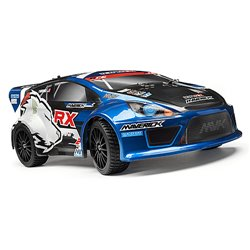 Maverick RALLY PAINTED BODY BLUE WITH DECALS (ION RX) MV28070