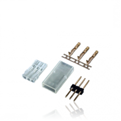 JR servo connector, male pin for crimping