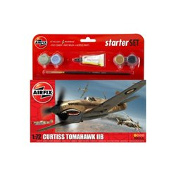 Airfix Curtiss Tomahawk IIB Starter Set 1:72