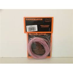 Gaugemaster GM 11p - pink WIRE 7 x 0.2mm 10 METRES