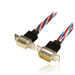 "Cable set Premium ""one4three"" SUB-D/SUB-D, wire lenght 160cm"