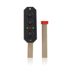 SensorSwitch, red connector with 200cm ribbon cable