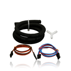 Accessories kit for PowerBox Smokepumpe, Patchleads, Y-piece, heat-resistant, rubber hose