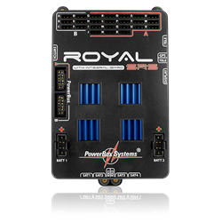 PowerBox Royal SRS incl. SensorSwitch, LC-Display, GPS