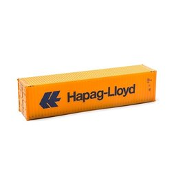 MIKRO RAIL HO Scale 40ft Shipping Container Hapag-Lloyd