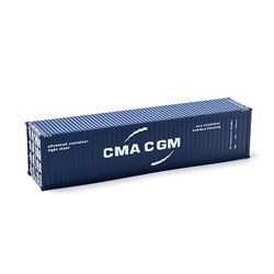MIKRO RAIL HO Scale 40ft Shipping Container CMA CGM