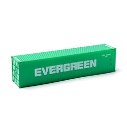 MIKRO RAIL HO Scale 40ft Shipping Container EVERGREEN
