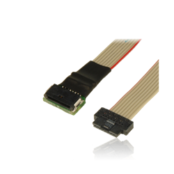 Extension, SensorSwitch, black connector, 30cm ribbon cable