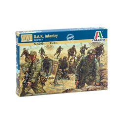 ITALERI 1/72 2ND WW GERMAN DAK INFANTRY