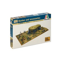 ITALERI 1/72 BUNKERS & ACCESSORIES