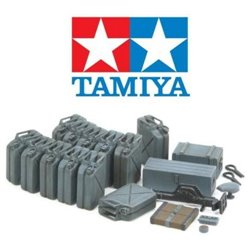 TAMIYA 1/35 JERRY CAN SET (EARLY)