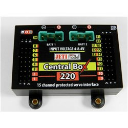 Jeti Central Box 220 + Magnetic Switch