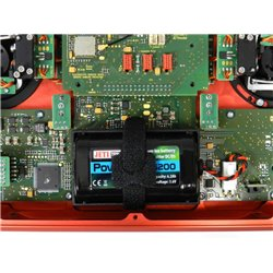 Jeti DC-16 II.- Carbon Line Red Jan 20 Duplex Transmitter 2.4GHz 2