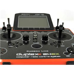 Jeti DS-16 Carbon Red Multimode Duplex Transmitter 2.4GHz