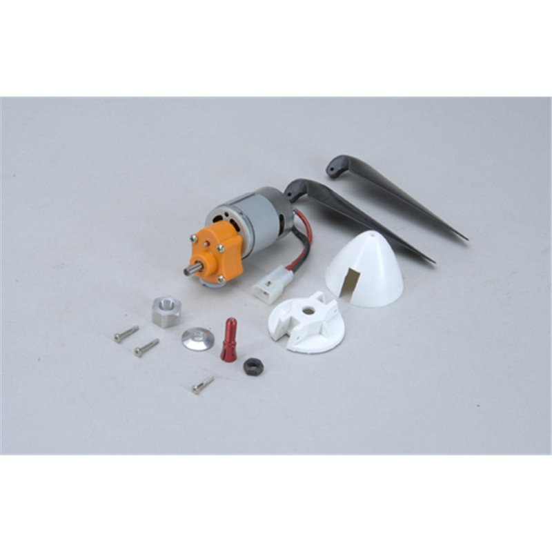 Irvine Brushed 380 Motor with 1.85:1 Gearbox 1.85:1 & Carbon Propellor IRV2032