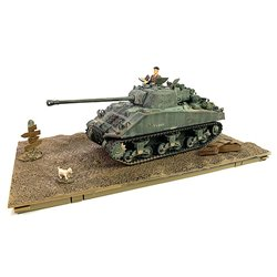 FORCES BRITISH SHERMAN FIREFLY VC MED TANK