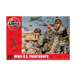 Airfix 00751 WWII US Paratroops 1:76