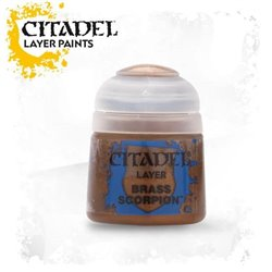 CITADEL BRASS SCORPION   Paint - Layer