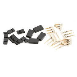Futaba J Connector pack - Male 6 PACK