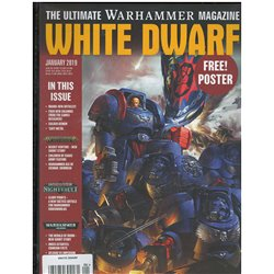 White Dwarf Magazine Magazine January 2019