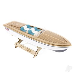 The Wooden Model Boat Company Riviera Motor Boat Kit 400mm