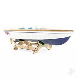 The Wooden Model Boat Company Riviera Motor Boat Kit 400mm 2