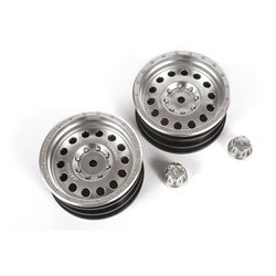 1.9 Method MR307 Hole Wheel Satin Silver (2pcs)