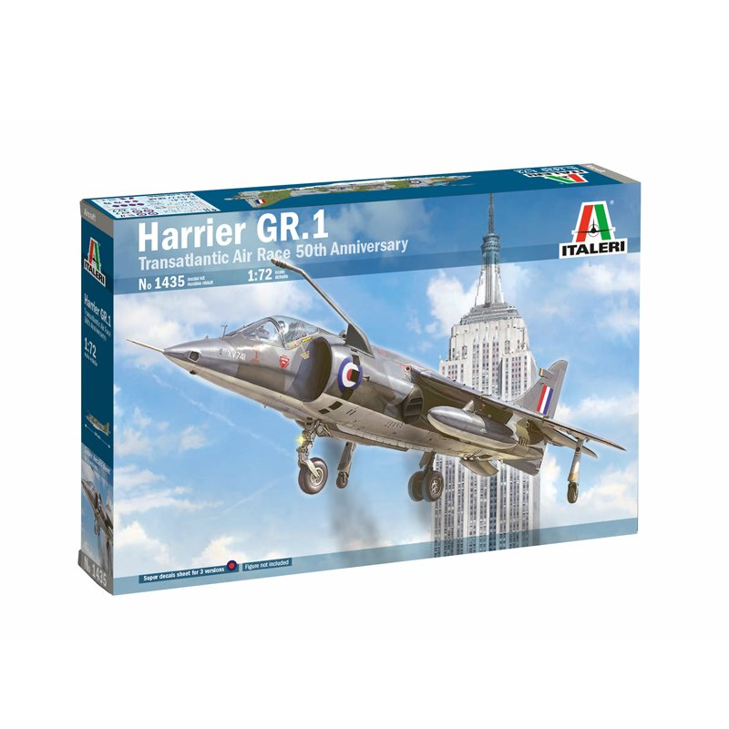 ITALERI RAF HAWKER HARRIER GR.I 50 YEAR