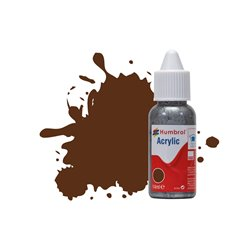 Humbrol 14ml Acrylic 160  German Camouflage Red