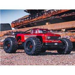OUTCAST 4X4 8S BLX 1/5th Stunt Truck Red