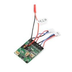 AS6410NBLT RX:DSMX 6-Ch AS3X w/Twin Brushless ESC