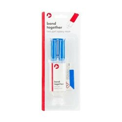 bond together Two Part  Epoxy Resin Glue 12ml