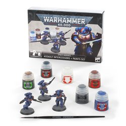 WAR HAMMER ASSLT INT + PAINTS