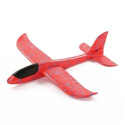 48cm Red EPP Foam Hand Throw Airplane Outdoor Launch Glider Plane