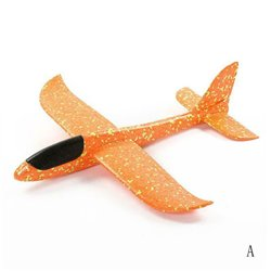 48cm Orange EPP Foam Hand Throw Airplane Outdoor Launch Glider Plane