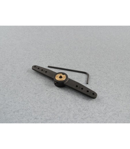 RACTIVE Steering Dbl Arm for Noselegs 12G F-RCA175/12G