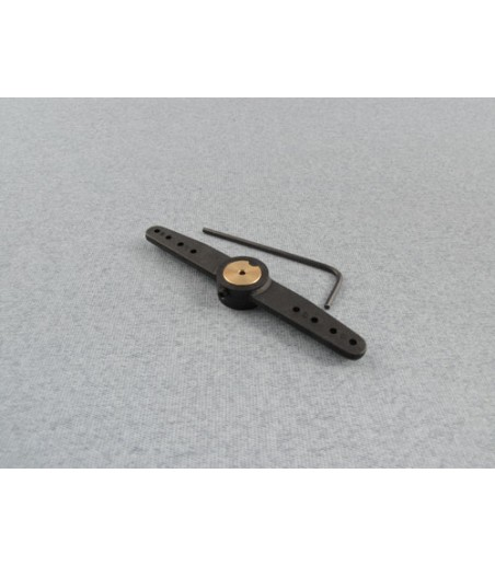RACTIVE Steering Dbl Arm for Noselegs 16G F-RCA175/16G