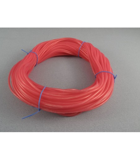 LOGIC Silicone Fuel Tube Red 2.38mm ID x 5.50mm x 1 meter
