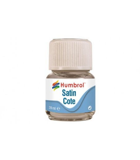Humbrol Modelcote Satincote 28ml Bottle