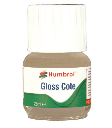 Humbrol Modelcote Glosscote 28ml Bottle