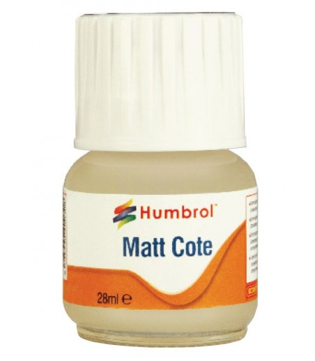Humbrol Modelcote Mattcote 28ml Bottle