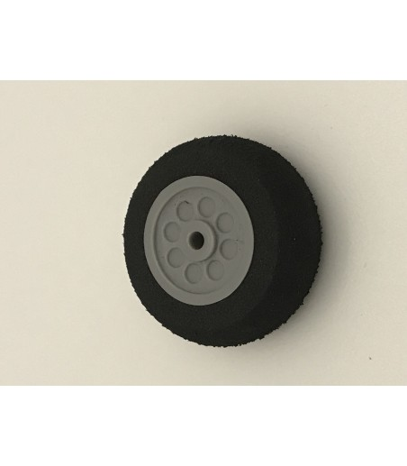 "25mm 1"" (Dia) H13mm Sponge Wheel tail wheel"